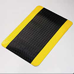 Anti Fatigue Diamondplate Matting, Ergonomic Matting