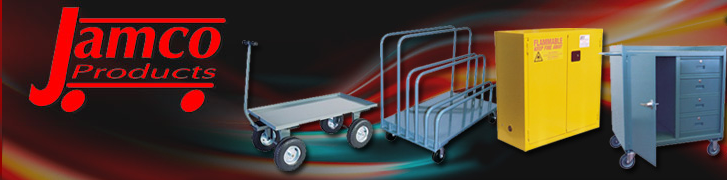 Jamco Carts, All Welded Industrial Carts