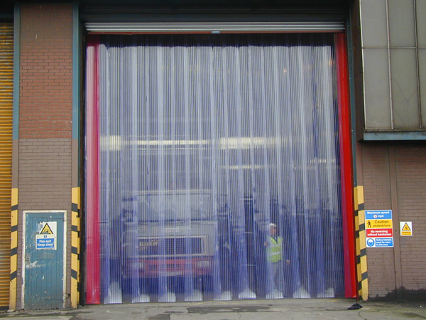 Vinyl Strip Door, Strip Door Materisl